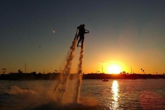 Jetpack America Flight, Newport Beach, California